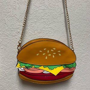 Burger Hand Bag Purse